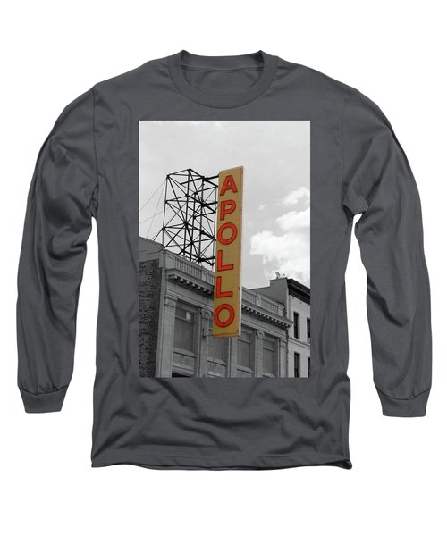 The Apollo In Harlem Long Sleeve T-Shirt by Danny Thomas