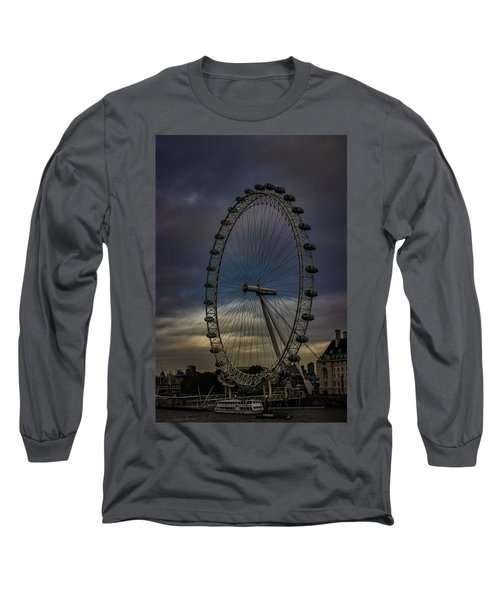 The London Eye Long Sleeve T-Shirt by Martin Newman