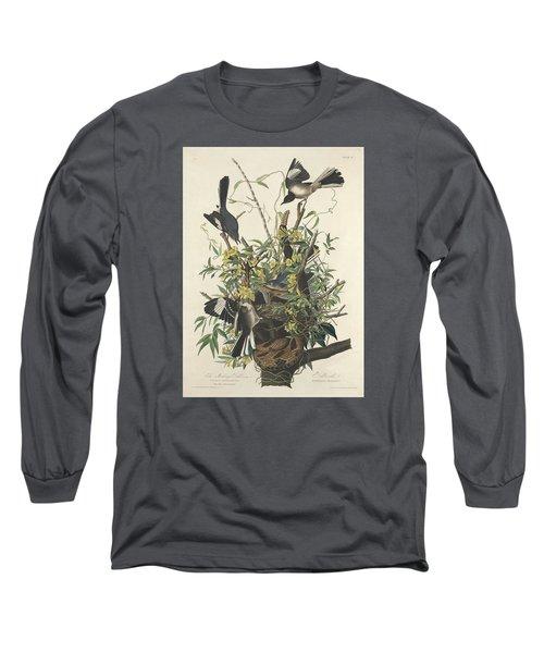 The Mockingbird Long Sleeve T-Shirt by John James Audubon