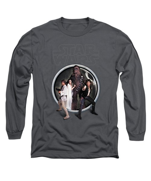 The Rebels Long Sleeve T-Shirt by Edward Draganski