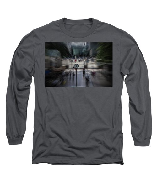 Time Traveller Long Sleeve T-Shirt by Martin Newman