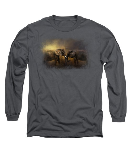 Together Through The Storms Long Sleeve T-Shirt by Jai Johnson