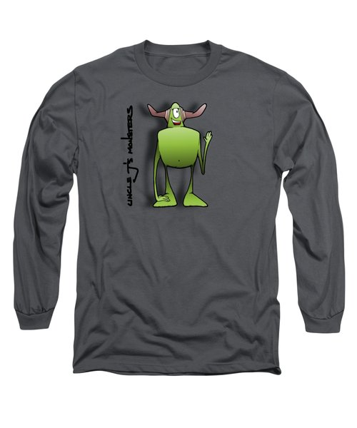 Tollak Long Sleeve T-Shirt by Uncle J's Monsters