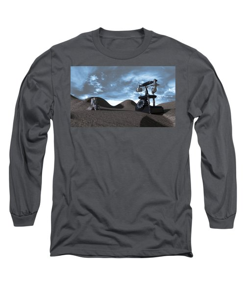 Tomorrow Morning Long Sleeve T-Shirt by Brainwave Pictures