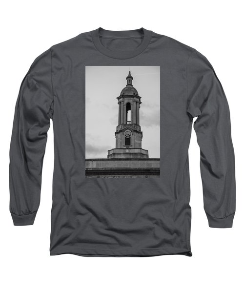 Tower At Old Main Penn State Long Sleeve T-Shirt by John McGraw