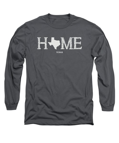 Tx Home Long Sleeve T-Shirt by Nancy Ingersoll
