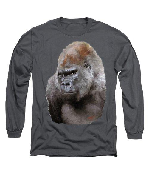 U Lookin At Me Long Sleeve T-Shirt by James Shepherd