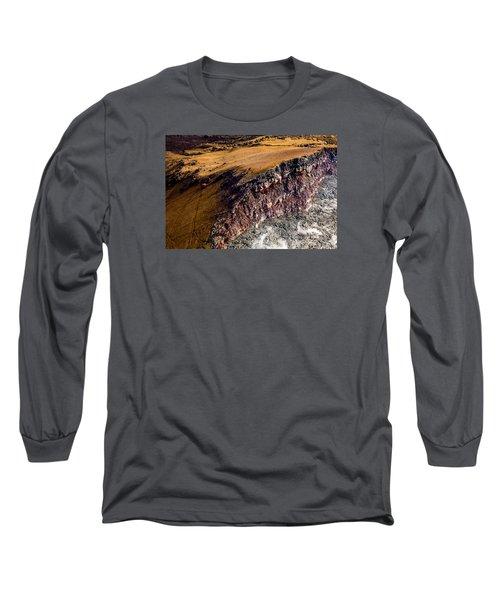 Long Sleeve T-Shirt featuring the photograph Volcanic Ridge II by M G Whittingham