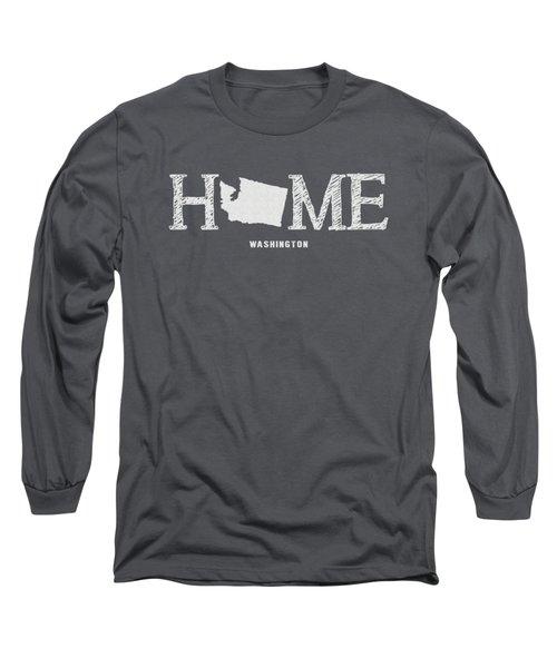 Wa Home Long Sleeve T-Shirt by Nancy Ingersoll