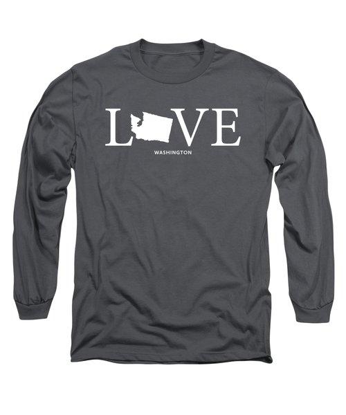 Wa Love Long Sleeve T-Shirt by Nancy Ingersoll