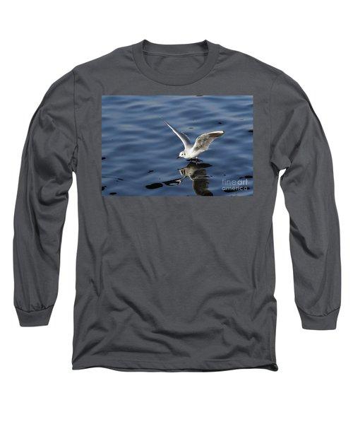 Walking On Water Long Sleeve T-Shirt by Michal Boubin