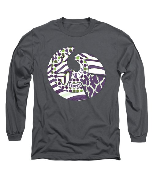 Wild Thing Long Sleeve T-Shirt by Methune Hively