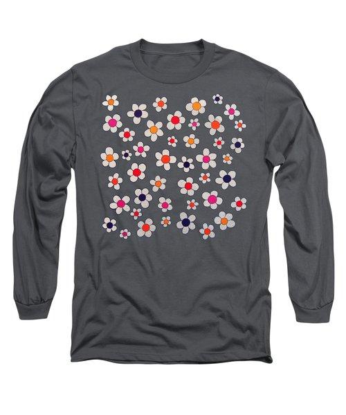 Woodflock Remix Long Sleeve T-Shirt by Oliver Johnston