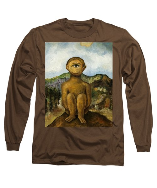 Cyclops Long Sleeve T-Shirt by Leah Saulnier The Painting Maniac