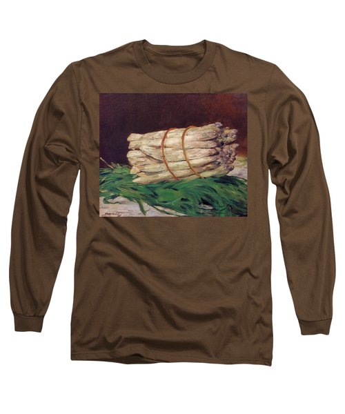 A Bunch Of Asparagus Long Sleeve T-Shirt by Edouard Manet