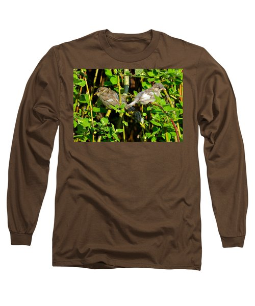 Babies Afraid To Fly Long Sleeve T-Shirt by Frozen in Time Fine Art Photography