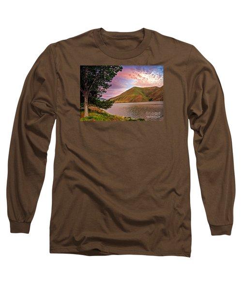 Beautiful Sunrise Long Sleeve T-Shirt by Robert Bales