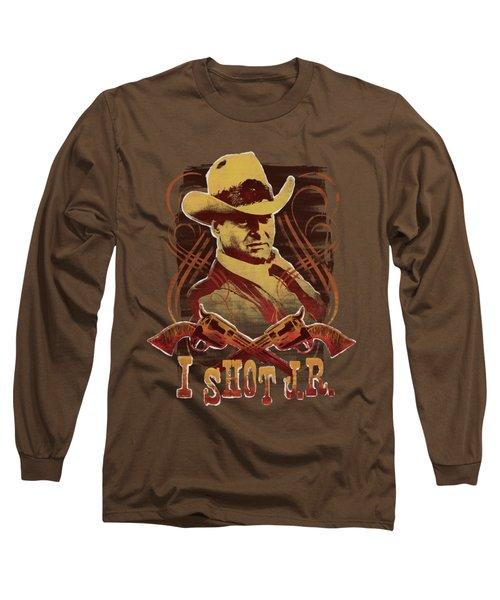 Dallas - I Shot Jr Long Sleeve T-Shirt by Brand A