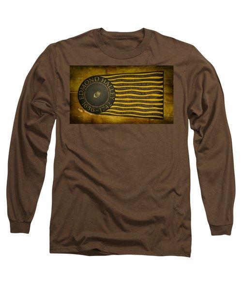 Edmond Halley Memorial Long Sleeve T-Shirt by Stephen Stookey