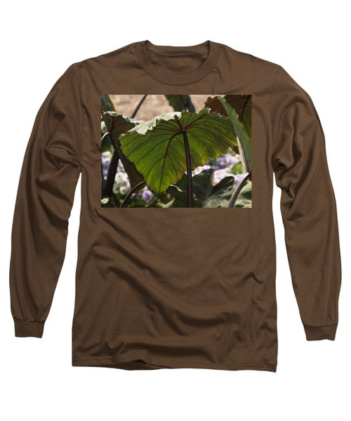 Elephant Ear Long Sleeve T-Shirt by James Peterson