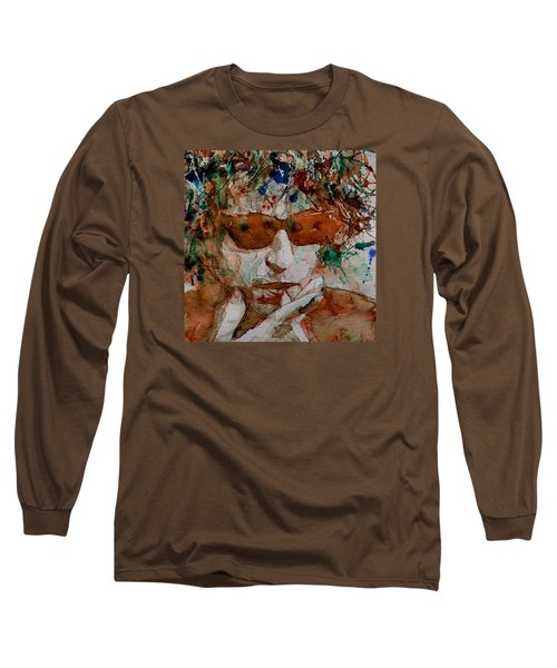Just Like A Woman Long Sleeve T-Shirt by Paul Lovering
