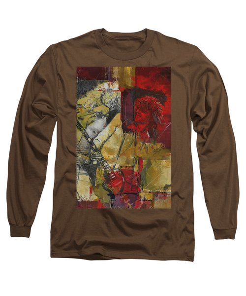 Led Zeppelin Long Sleeve T-Shirt by Corporate Art Task Force