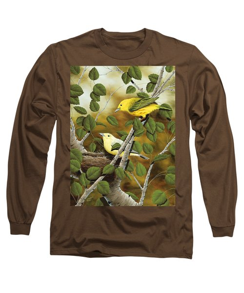 Love Nest Long Sleeve T-Shirt by Rick Bainbridge