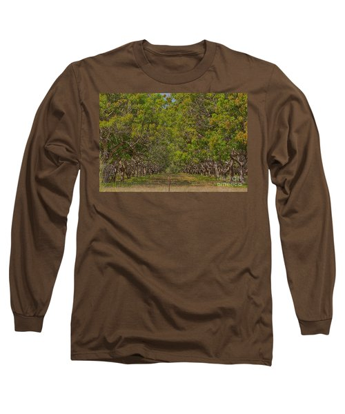 Mango Orchard Long Sleeve T-Shirt by Douglas Barnard