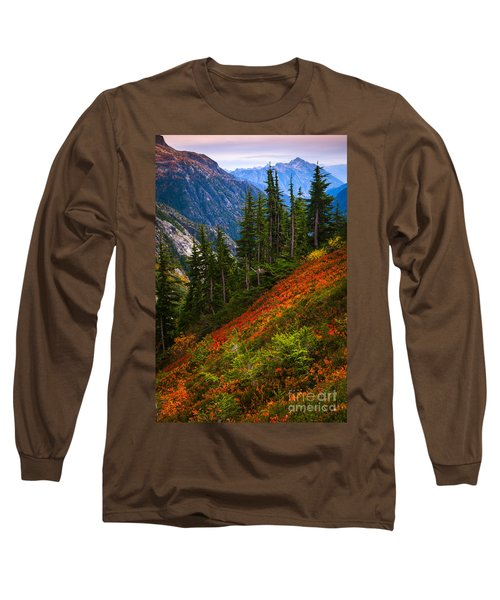Sahale Arm Long Sleeve T-Shirt by Inge Johnsson