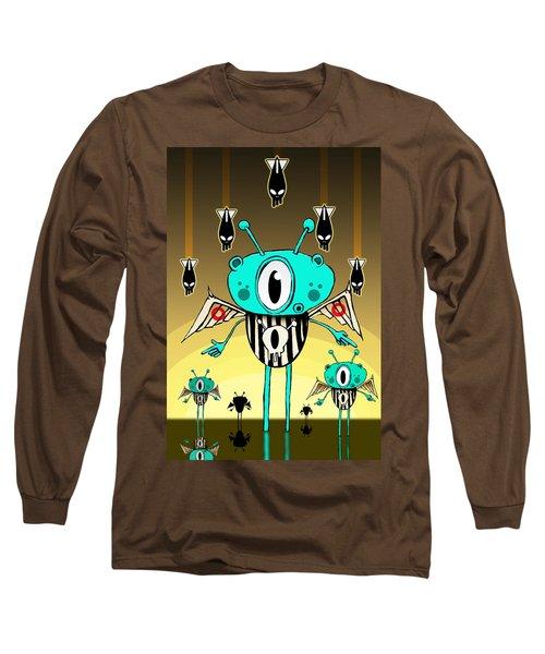 Team Alien Long Sleeve T-Shirt by Johan Lilja