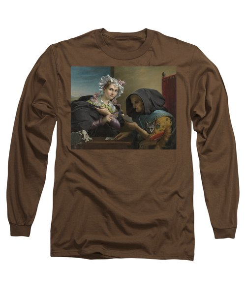 The Fortune Teller Long Sleeve T-Shirt by Adele Kindt