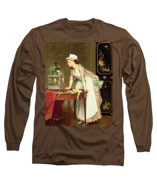 The Yellow Canaries Long Sleeve T-Shirt by Joseph Caraud