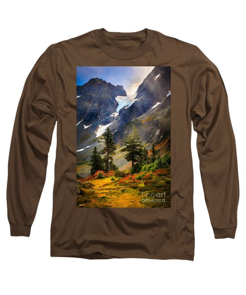 Top Of Cascade Pass Long Sleeve T-Shirt by Inge Johnsson