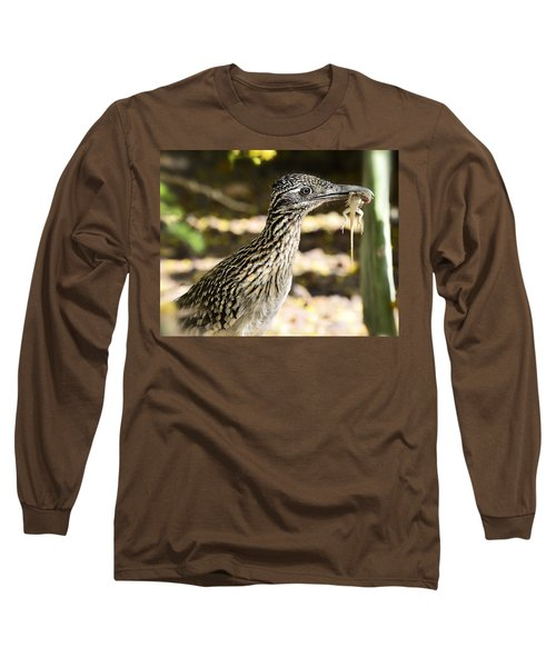 Lunch Anyone Long Sleeve T-Shirt by Saija  Lehtonen