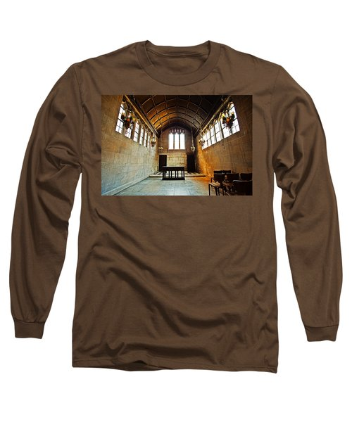 Of Stone And Wood Long Sleeve T-Shirt by CJ Schmit