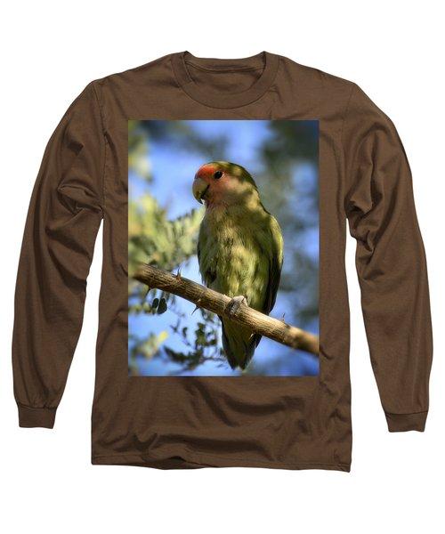 Pretty Bird Long Sleeve T-Shirt by Saija  Lehtonen