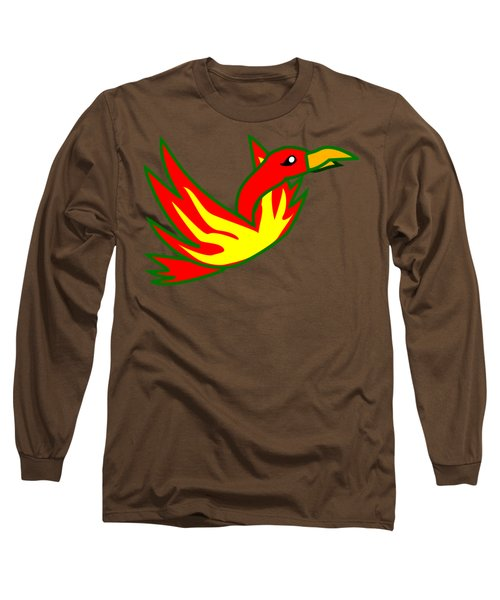 Phoenix Long Sleeve T-Shirt by Frederick Holiday