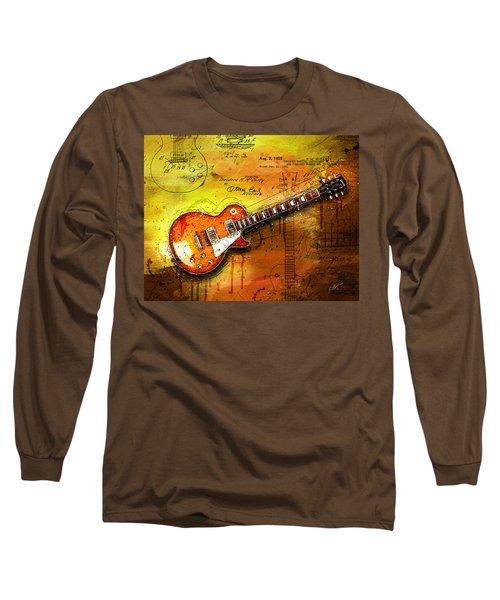 55 Sunburst Long Sleeve T-Shirt by Gary Bodnar
