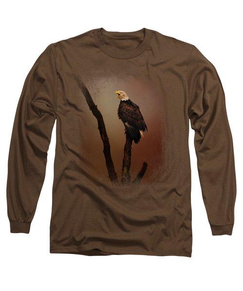 After The Autumn Storm Long Sleeve T-Shirt by Jai Johnson