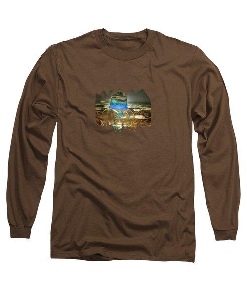 Beach Treasures Long Sleeve T-Shirt by Thom Zehrfeld