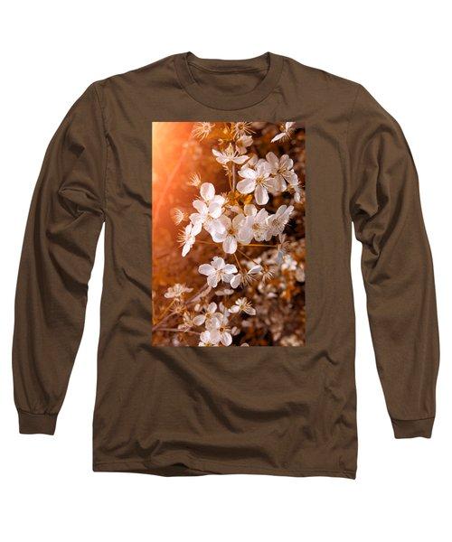 Blossoming Garden Long Sleeve T-Shirt by Konstantin Sevostyanov
