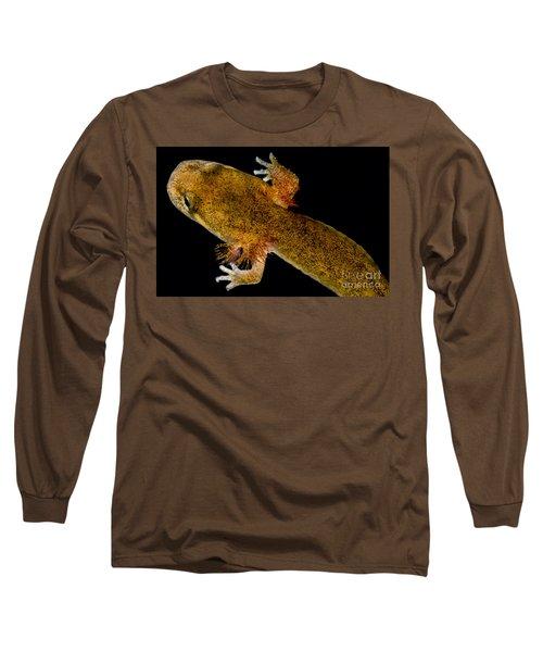 California Giant Salamander Larva Long Sleeve T-Shirt by Dant� Fenolio