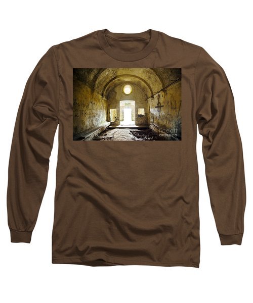 Church Ruin Long Sleeve T-Shirt by Carlos Caetano