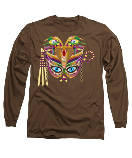 Cleopatra Viii For Any Color Products But No Prints Long Sleeve T-Shirt by Bill Campitelle
