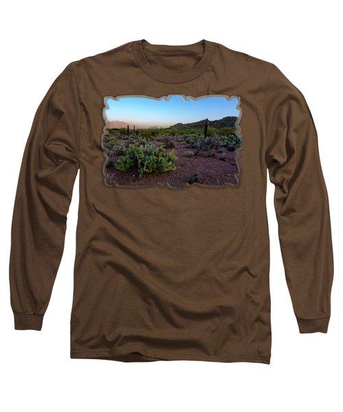 Desert Foothills H29 Long Sleeve T-Shirt by Mark Myhaver