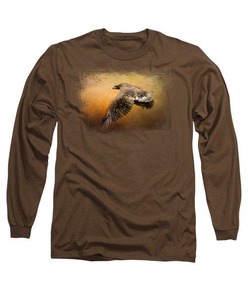 First Flight Long Sleeve T-Shirt by Jai Johnson