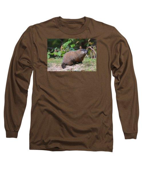 Groundhog  0590 Long Sleeve T-Shirt by Jack Schultz