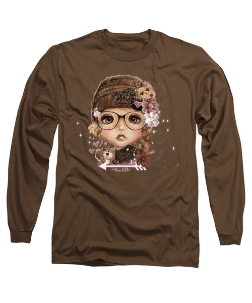 Java Joanna Long Sleeve T-Shirt by Sheena Pike