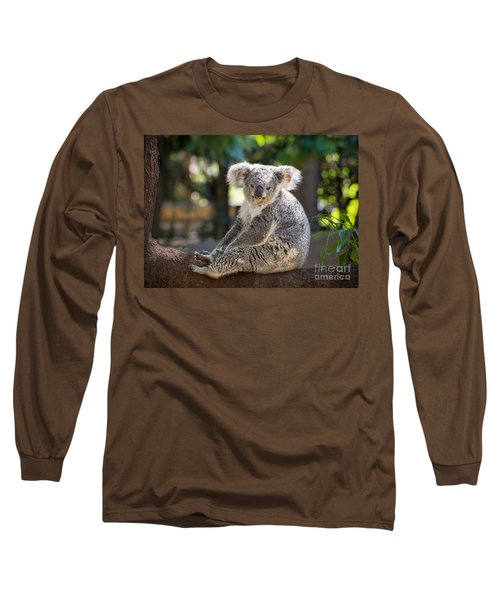 Just Relax Long Sleeve T-Shirt by Jamie Pham