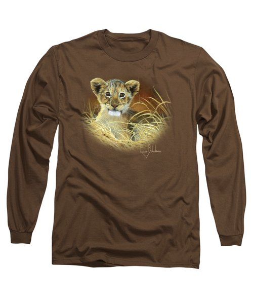 King To Be Long Sleeve T-Shirt by Lucie Bilodeau